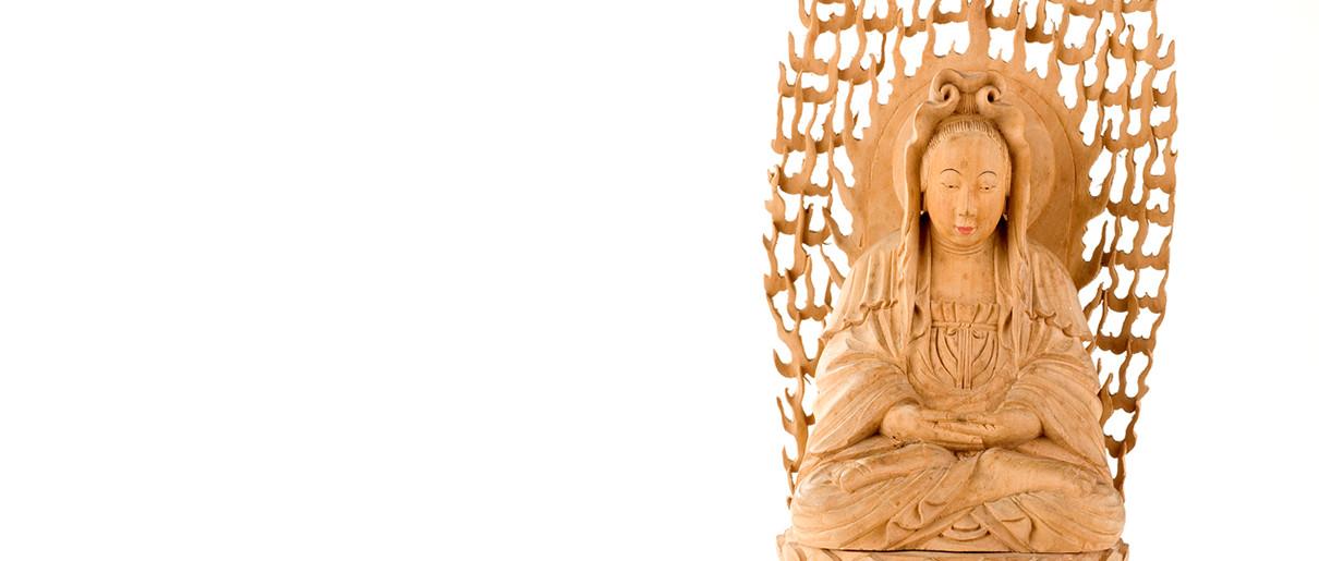 Statue représentant Guanyin