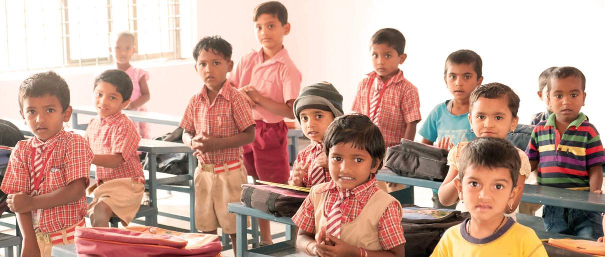 Enfance Missionnaire catéchisme Inde