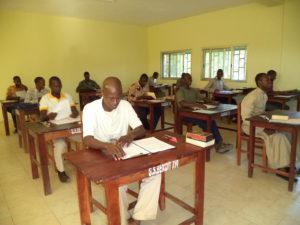 Grand Séminaire Benoît XVI Conakry 5 Salle de classe