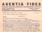 Extrait dépêche Fides - Mission 1931