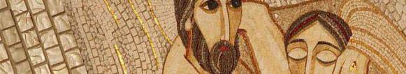 Le christ mosaique