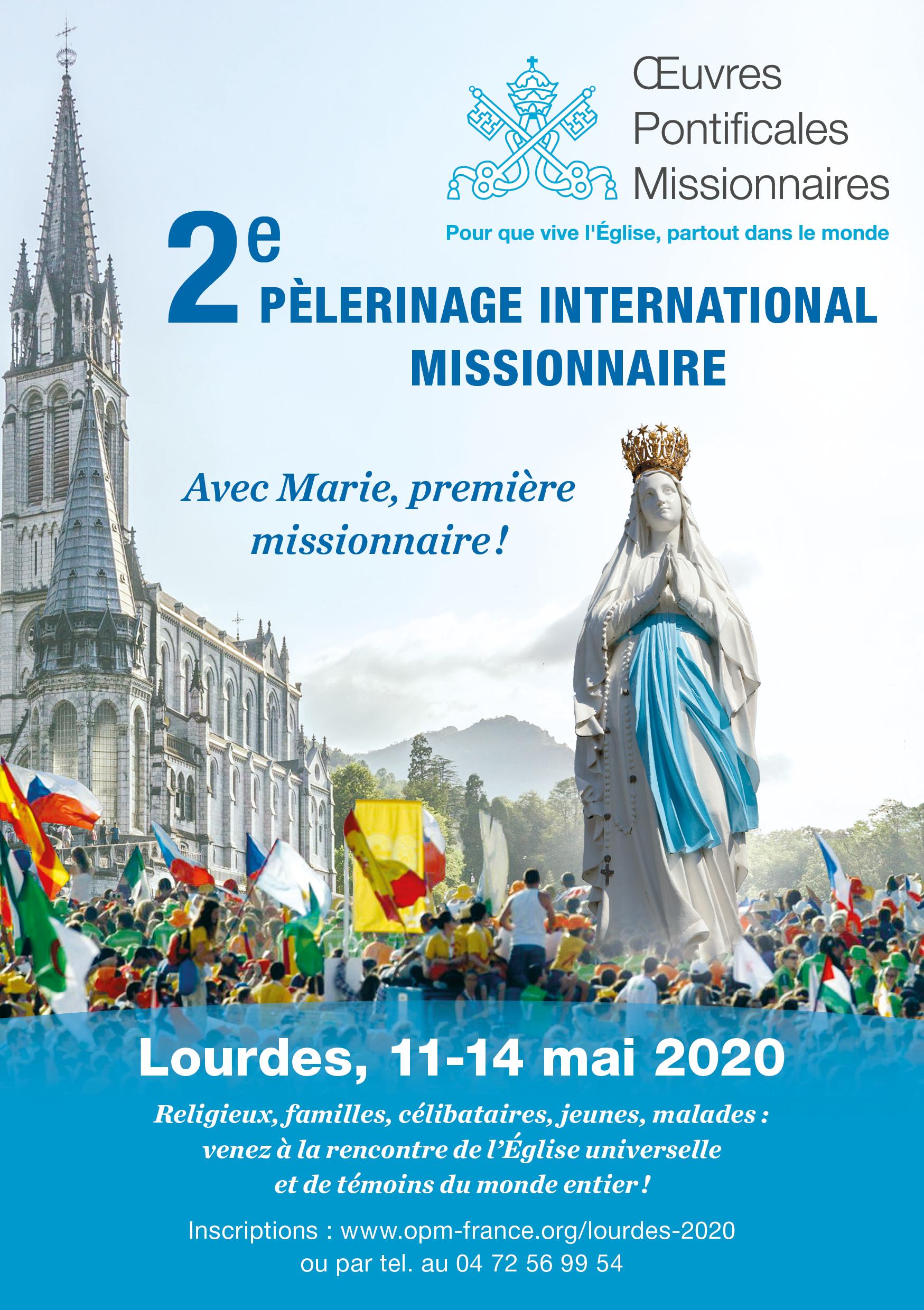 Pèlerinage à Lourdes en mai... Inscriptions ouvertes !
